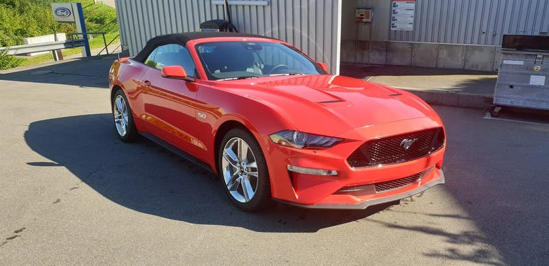 Ford Mustang Convertible 5.0 V8 GT 1 km CHF69'900 - buy on carforyou.ch - 1