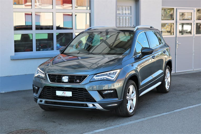 SEAT Ateca 2.0 TSI FR 4Drive DSG 89'000 km CHF27'950 - buy on carforyou.ch - 1