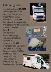Fiat X 71'000 km CHF38'200 - buy on carforyou.ch - 2