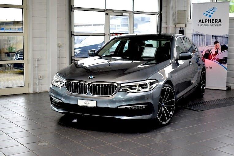 BMW 5er 540i xDrive Luxury Line Steptronic 85'000 km CHF36'900 - buy on carforyou.ch - 1