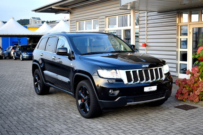 Jeep Grand Cherokee 3.0 CRD Limited Automatic 130'000 km CHF19'900 - buy on carforyou.ch - 1