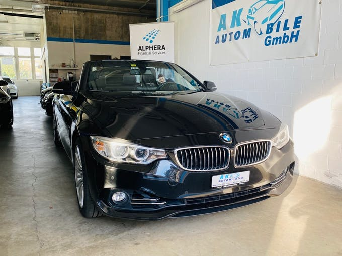 BMW 4er 435i Cabriolet Luxury Line Steptronic 70'000 km CHF28'900 - buy on carforyou.ch - 1