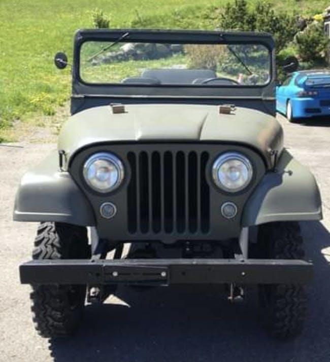 Jeep CJ-7 Willys Universal CJ-5, Veteranenfahrzeug 20'000 km CHF23'500 - kaufen auf carforyou.ch - 1