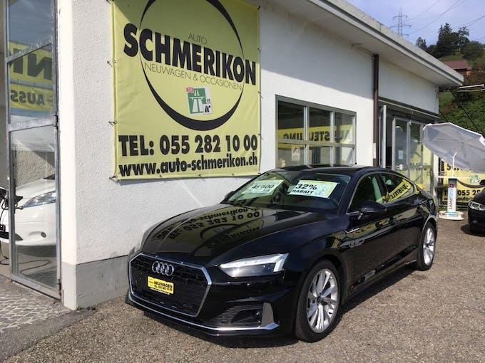 Audi A5 Sportback 40 TFSI advanced S-tronic 36 km CHF43'800 - buy on carforyou.ch - 1
