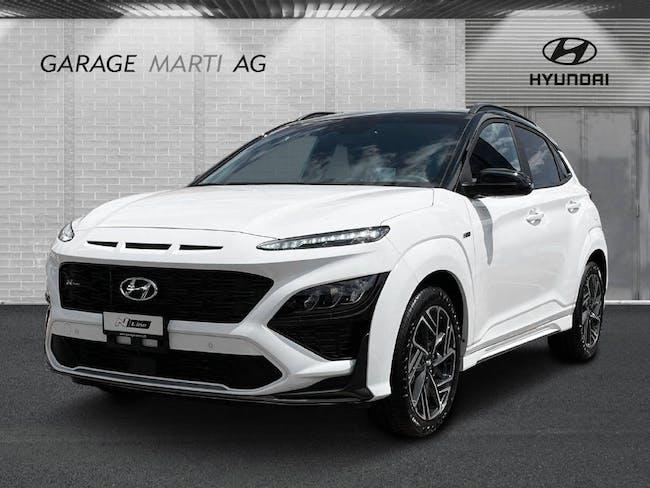 Hyundai Kona 1.6 T-GDi N-Line Lux 4WD 50 km CHF41'750 - kaufen auf carforyou.ch - 1