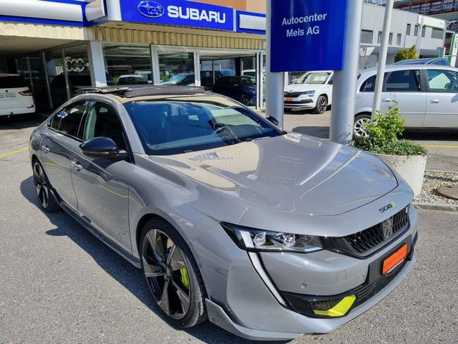 Peugeot 508 PSE Plug-in Hybrid 360 PS 4x4 AT8 50 km CHF66'600 - kaufen auf carforyou.ch - 1