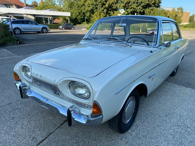 """Ford Taunus 17m P3 """"de Luxe"""" 144'281 km CHF15'900 - buy on carforyou.ch - 1"""