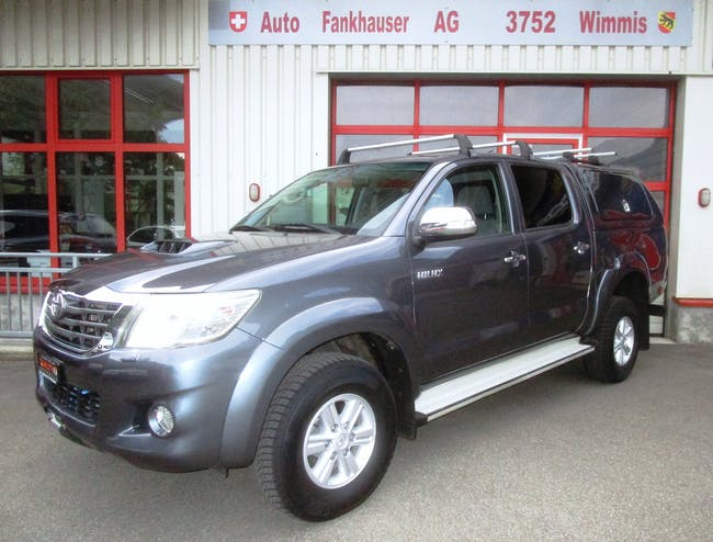 Toyota Hilux HI-LUX Hilux 3.0 DoubleCab Sol A 166'000 km CHF23'800 - buy on carforyou.ch - 1
