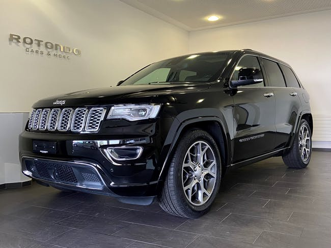 Jeep Grand Cherokee 3.0 CRD Overland Automatic 32'500 km CHF49'900 - buy on carforyou.ch - 1