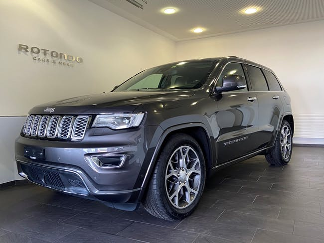 Jeep Grand Cherokee 3.0 CRD Overland Automatic 23'000 km CHF49'900 - buy on carforyou.ch - 1