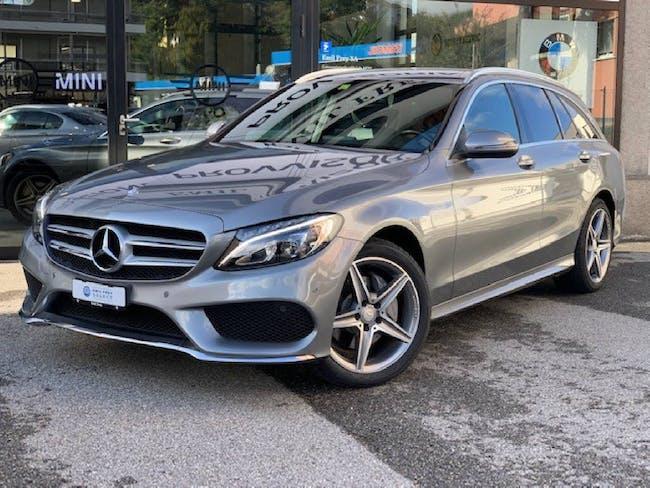 Mercedes-Benz C-Klasse C 180 AMG Line 55'400 km CHF25'500 - buy on carforyou.ch - 1