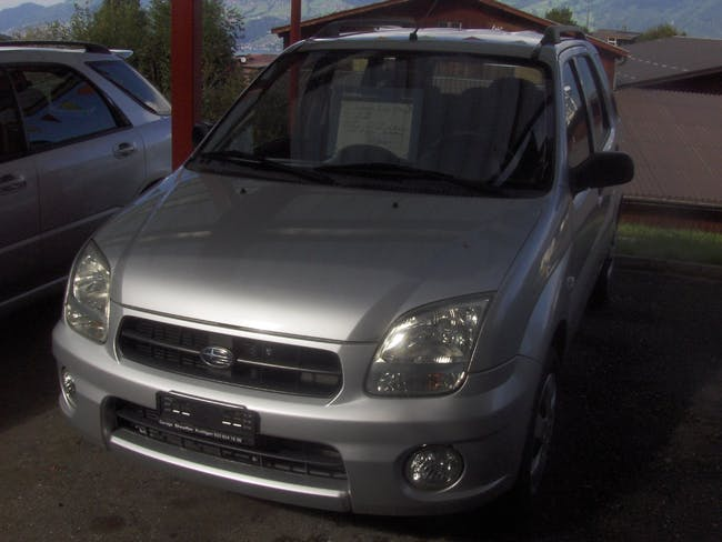 Subaru G3X Justy 1.5 AWD 101'000 km CHF4'800 - acquistare su carforyou.ch - 1