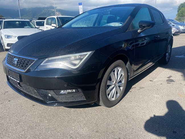 SEAT Leon 1.4 TGI Style DSG 48'250 km CHF21'900 - buy on carforyou.ch - 1