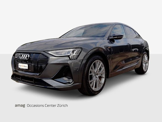Audi e-tron Sportback 55 S line 8'900 km CHF83'900 - buy on carforyou.ch - 1