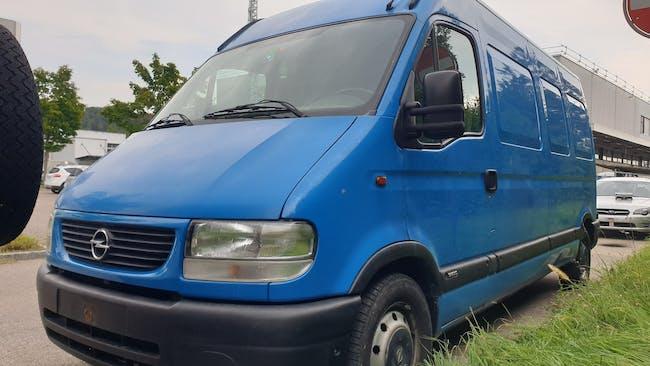 Opel Movano 2.5DTi 3.5t 290'000 km CHF1'999 - kaufen auf carforyou.ch - 1