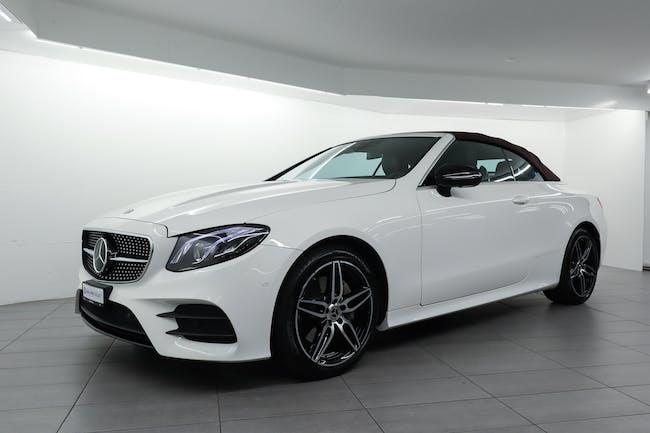 Mercedes-Benz E-Klasse E 200 AMG Line 4matic Cabriolet 21'700 km CHF49'900 - buy on carforyou.ch - 1