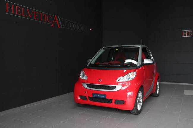 Smart Fortwo Cabrio 800 cdi 54 Passion 37'500 km CHF9'900 - buy on carforyou.ch - 1