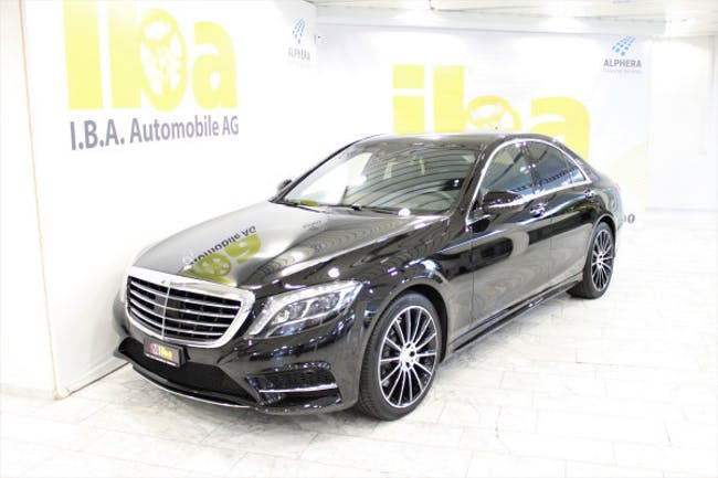 Mercedes-Benz S-Klasse S 500 4Matic 55'800 km CHF59'900 - acheter sur carforyou.ch - 1