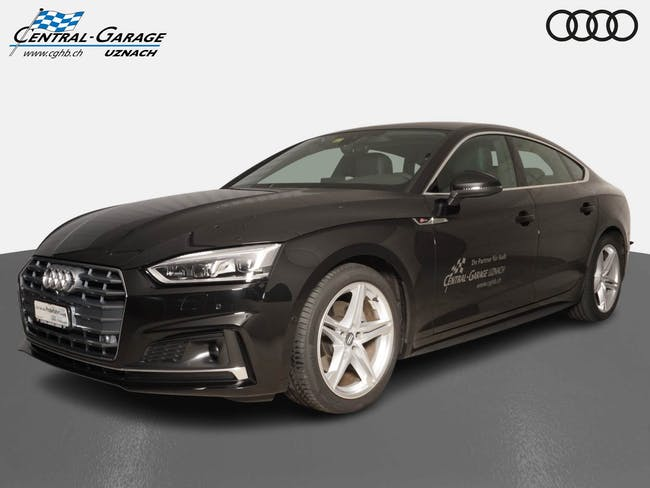 Audi A5 Sportback 40 g-tron Sp 9'800 km CHF45'900 - buy on carforyou.ch - 1