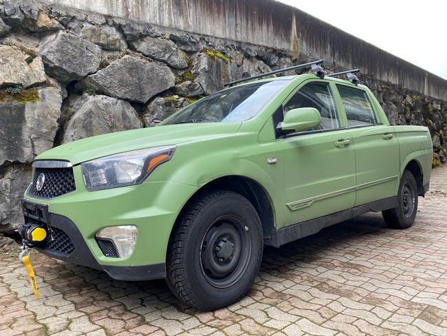 SsangYong Actyon Sports FR 2.0 Crystal 4WD 120'000 km CHF7'900 - acquistare su carforyou.ch - 1