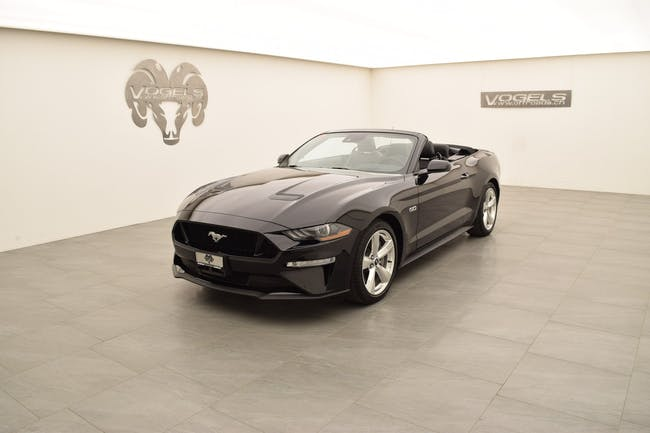 Ford Mustang GT 5.0 Convertible 1 km CHF66'900 - buy on carforyou.ch - 1