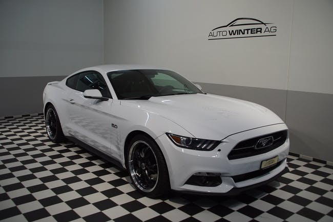 Ford Mustang GT 50th Anniverary 32'500 km CHF36'900 - buy on carforyou.ch - 1
