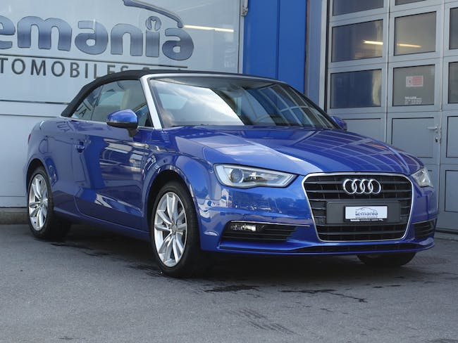 Audi A3 Cabriolet 1.4 TFSI Ambiente S-tronic 42'710 km CHF26'900 - buy on carforyou.ch - 1