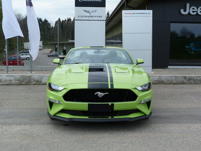 Ford Mustang Convertible 5.0 V8 GT 7'000 km CHF61'800 - buy on carforyou.ch - 1