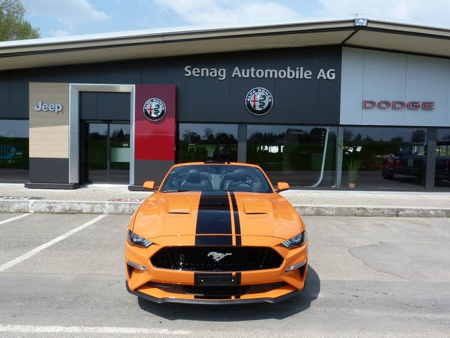 Ford Mustang Convertible 5.0 V8 GT 5'000 km CHF59'800 - buy on carforyou.ch - 1