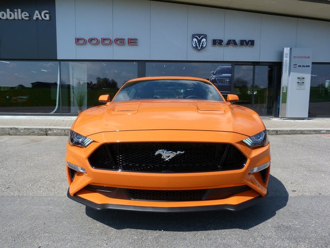 Ford Mustang Fastback 5.0 V8 GT Automat 10 km CHF55'800 - buy on carforyou.ch - 1