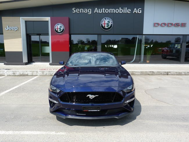 Ford Mustang Convertible 5.0 V8 GT 14'000 km CHF59'800 - buy on carforyou.ch - 1