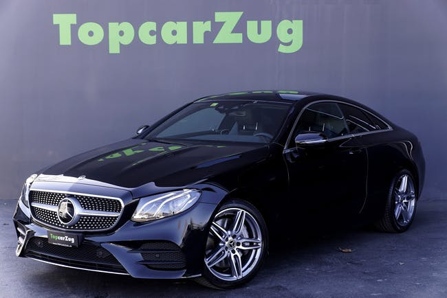 Mercedes-Benz E-Klasse E 300 Coupé AMG Line 9G-Tronic ** CH-Fahrzeug-Gratis Service ** 62'500 km CHF43'900 - buy on carforyou.ch - 1