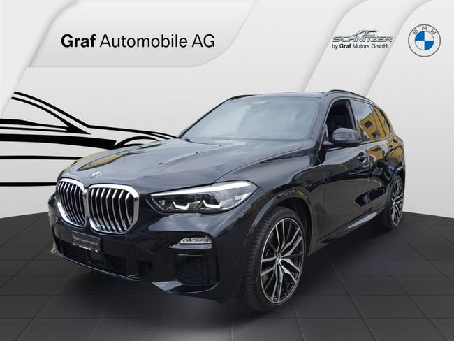 BMW X5 xDrive 30d M-Sport mit 7 Sitzplätzen & 3'500 kg Anhängelast ** Leasing-Aktion 2,9% ** 30'000 km CHF73'800 - buy on carforyou.ch - 1
