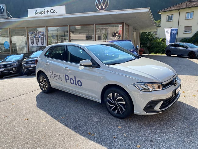VW Polo 1.0 TSI Life 10 km CHF23'400 - buy on carforyou.ch - 1