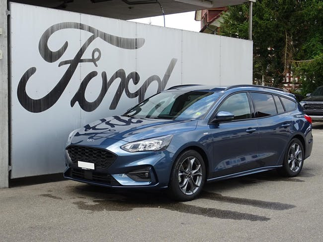 Ford Focus Station Wagon 1.0i EcoB 125 ST-Line 24'900 km CHF23'890 - buy on carforyou.ch - 1