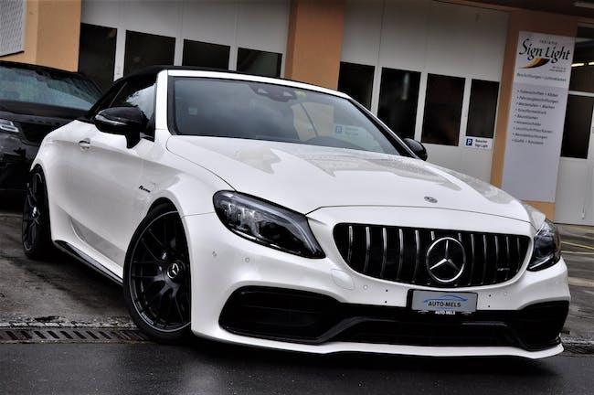 Mercedes-Benz C-Klasse C 63 AMG 9G-tronic Cabriolet 31'000 km CHF81'900 - buy on carforyou.ch - 1