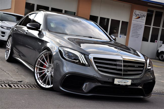 Mercedes-Benz S-Klasse S 63 AMG L 4Matic+ 9G-Tronic 43'000 km CHF134'900 - acheter sur carforyou.ch - 1