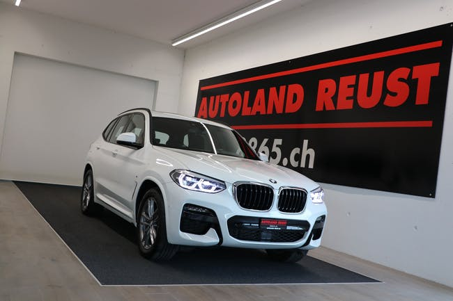 BMW X3 xDrive 48V 30d M Sport Steptronic 7'300 km CHF58'900 - buy on carforyou.ch - 1