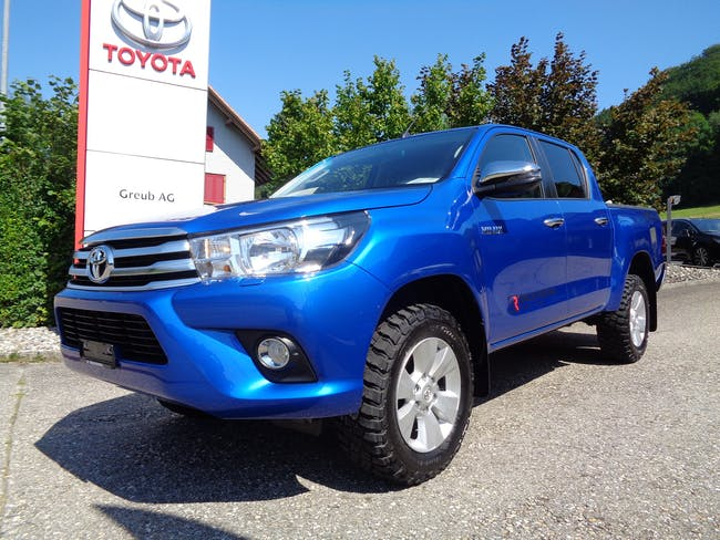 Toyota Hilux 2.4D-4D Sol DoubleCab 4x4 A 54'630 km CHF39'600 - acheter sur carforyou.ch - 1