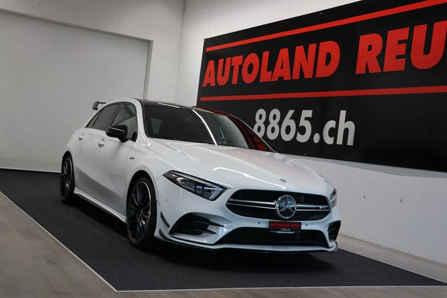 Mercedes-Benz A-Klasse A 35 AMG 4Matic Speedshift 34'700 km CHF49'990 - buy on carforyou.ch - 1