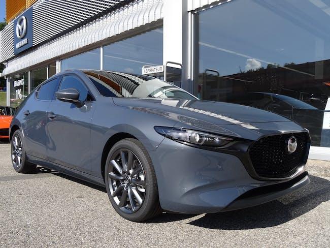 "Mazda 3 Hatchback SKYACTIV-X M Hybrid 186 Revolution ""Toit ouvrant"" Automat 20 km CHF34'990 - acheter sur carforyou.ch - 1"