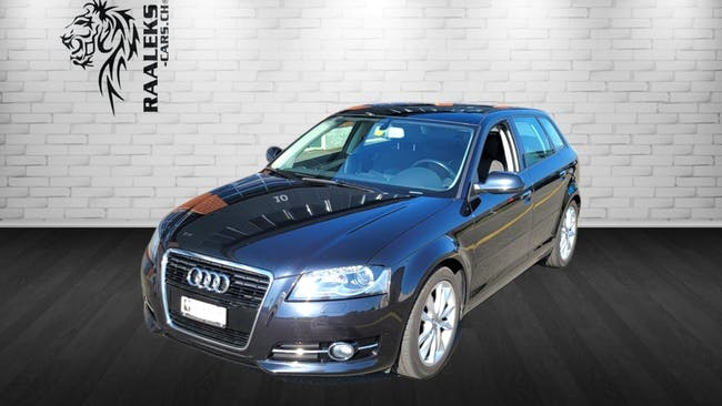 Audi A3 Sportback 1.4 TFSI Ambition S-tronic 172'000 km CHF9'900 - buy on carforyou.ch - 1