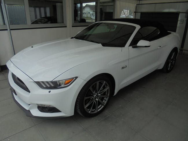 Ford Mustang Convertible 5.0 V8 GT Automat 39'000 km CHF41'000 - buy on carforyou.ch - 1
