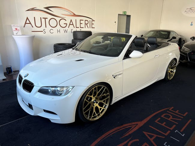 """BMW 3er M3 Cabriolet DSG * CH * Top * 20"""" * H&R * 81'000 km CHF31'800 - buy on carforyou.ch - 1"""
