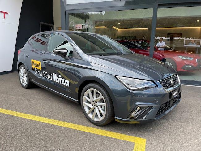 SEAT Ibiza 1.0 EcoTSI Hola FR DSG 20 km CHF25'580 - buy on carforyou.ch - 1