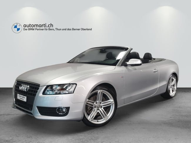 Audi A5 Cabrio 2.0 TFSI 48'500 km CHF21'900 - buy on carforyou.ch - 1