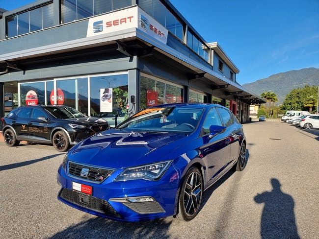 SEAT Leon 1.5 TSI EVO SWISS FR DSG 29'000 km CHF24'900 - buy on carforyou.ch - 1