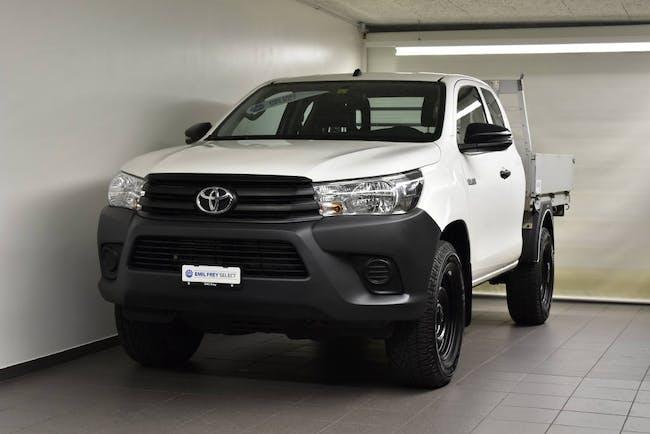 Toyota Hilux Extra Cab.-Chassis 2.4 D-4D 150 Luna 66'100 km CHF29'500 - acheter sur carforyou.ch - 1