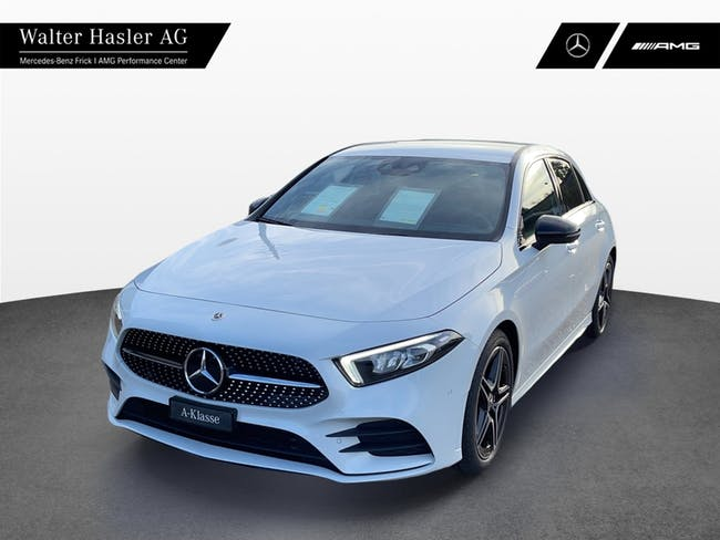 Mercedes-Benz A-Klasse A 180 Night Star AMG Line 7G-DCT 10 km CHF46'900 - buy on carforyou.ch - 1
