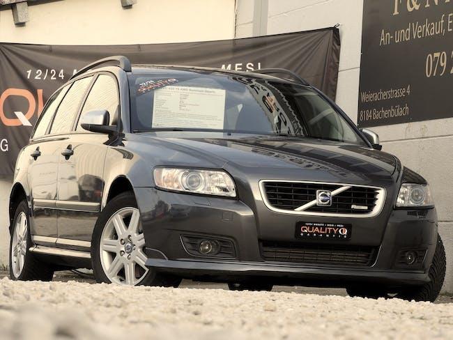Volvo V50 T5 AWD Summum Geartr. R Design / MFK 28.09.2021 / Frisch ab gr. Service inkl. ZR +WP / 1 Jahr G 92'669 km CHF17'800 - buy on carforyou.ch - 1